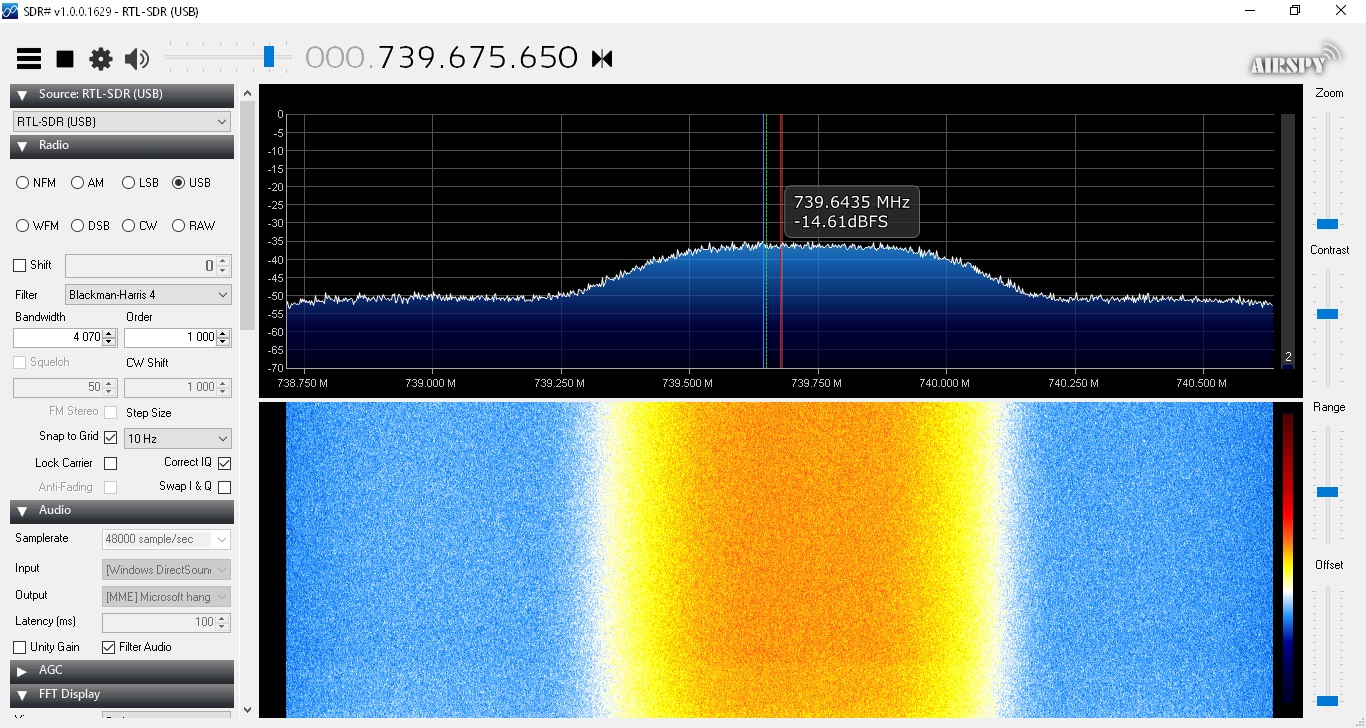 Es'hail-2 narrow band transponder live streaming – IoT Design